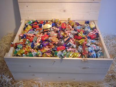 Godislådan 3 kg Julklappen till det mindre kontoret