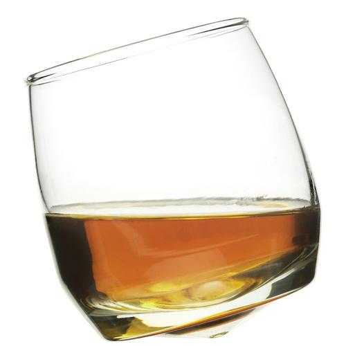 Whiskeyglas med rundad botten – 6-pack